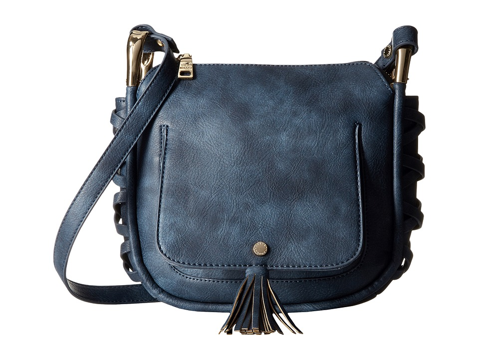 Steve Madden - Bhadley Tassel Crossbody (Blue) Cross Body Handbags