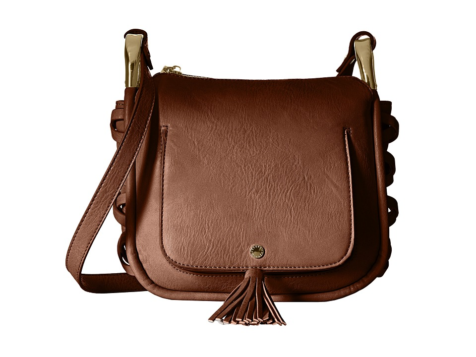 Steve Madden - Bhadley Tassel Crossbody (Cognac) Cross Body Handbags