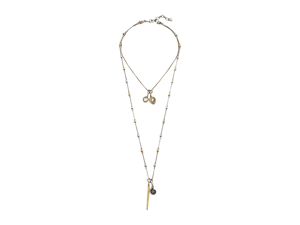 Lucky Brand - Lucky Layer Necklace (Multi) Necklace
