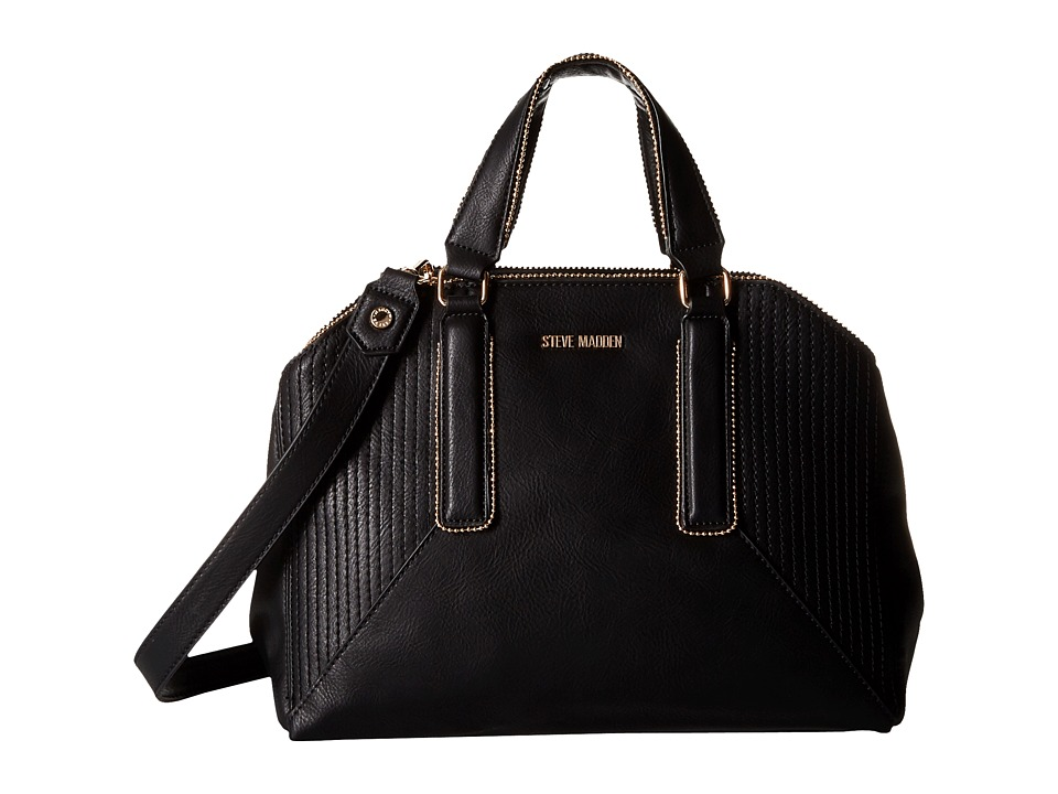 Steve Madden - Bpronto Dome Satchel (Black) Satchel Handbags