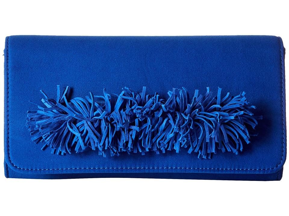 Steve Madden - Bgeorgia Clutch (Blue) Clutch Handbags