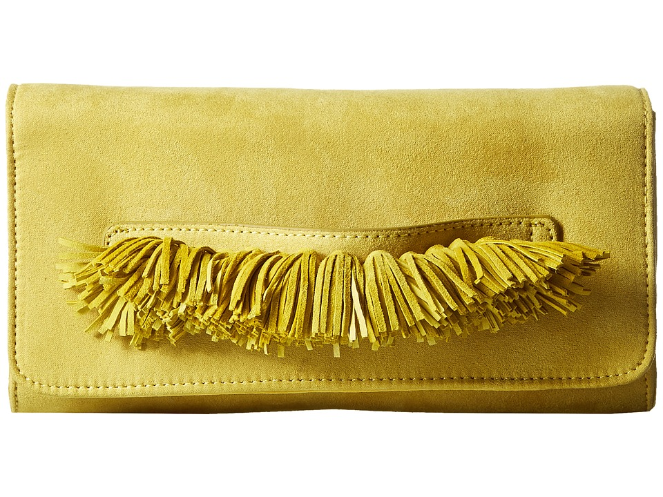 Steve Madden - Bgeorgia Clutch (Citron) Clutch Handbags