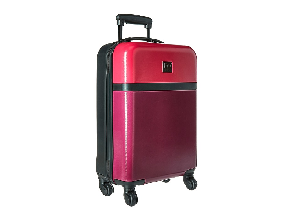 Diane von Furstenberg - Addison 20 Hardside Spinner (Dragon/Cerise/Black) Luggage