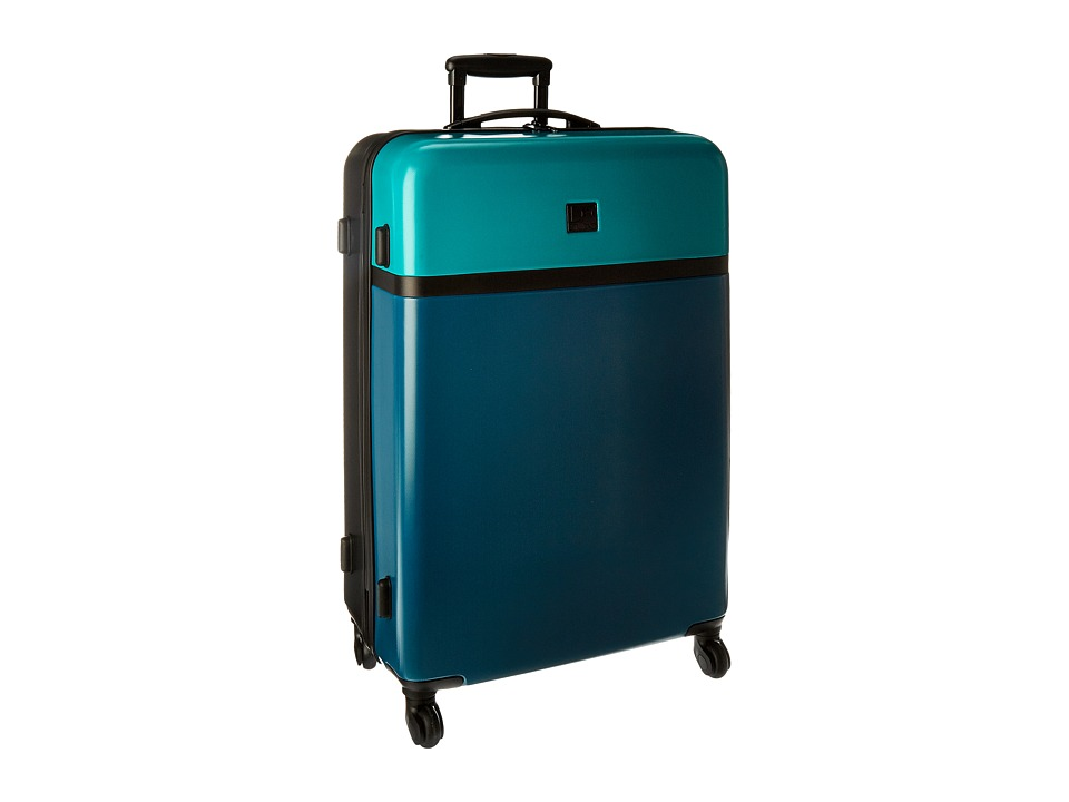 Diane von Furstenberg - Addison 28 Hardside Spinner (Lagoon/Teal/Black) Luggage