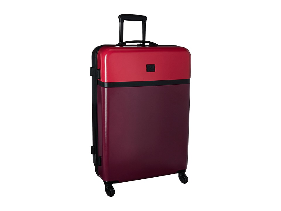 Diane von Furstenberg - Addison 19 Hardside Spinner (Dragon/Cerise/Black) Luggage