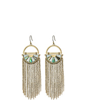 Lucky Brand - Abalone Fringe Earrings