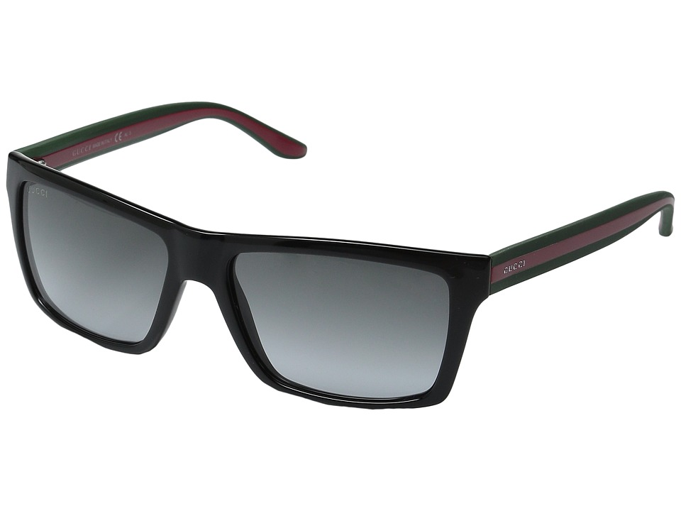 Gucci GG 1013/S Shiny Black/Grey Gradient Fashion Sunglasses