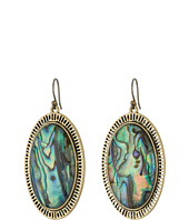 Lucky Brand - Major Abalone Earrings