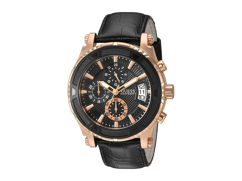 Guess U0673G5 (Rose Gold/Black) Watches