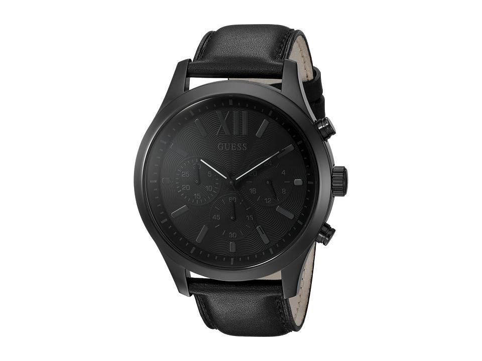 GUESS - U0789G4 (Black/Black) Watches