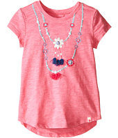 Lucky Brand Kids - Shell Necklace Tee (Toddler)