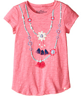 Lucky Brand Kids - Shell Necklace Tee (Big Kids)