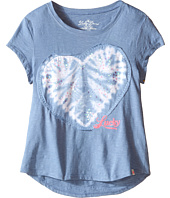 Lucky Brand Kids - Embroderied Applique Heart Tee (Big Kids)