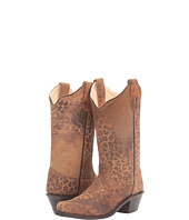 Old West Kids Boots - Snip Toe Leopard Print (Toddler/Little Kid)