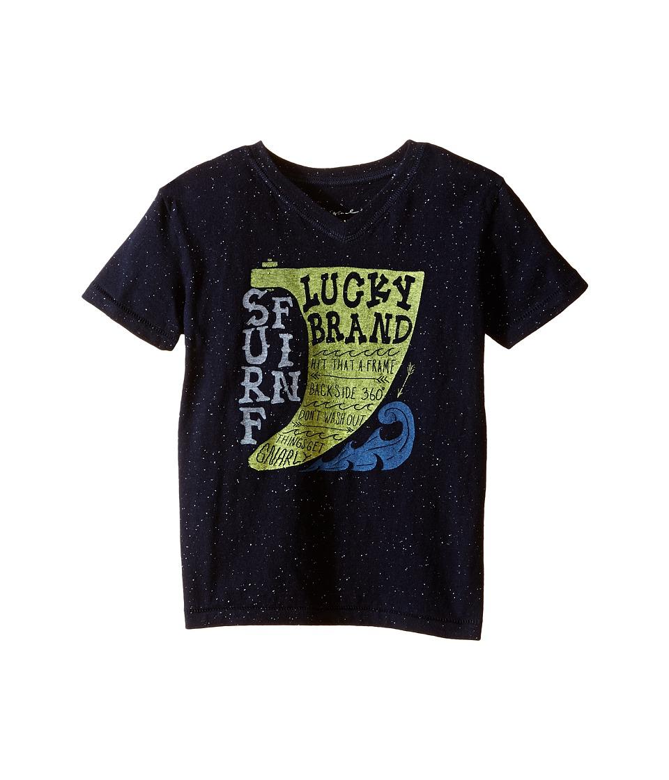 Lucky Brand Kids - Surf Tee (Toddler) (Deep Navy) Boy
