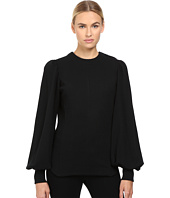 Y's by Yohji Yamamoto - Smocked Sleeve Balloon Sleeve Top