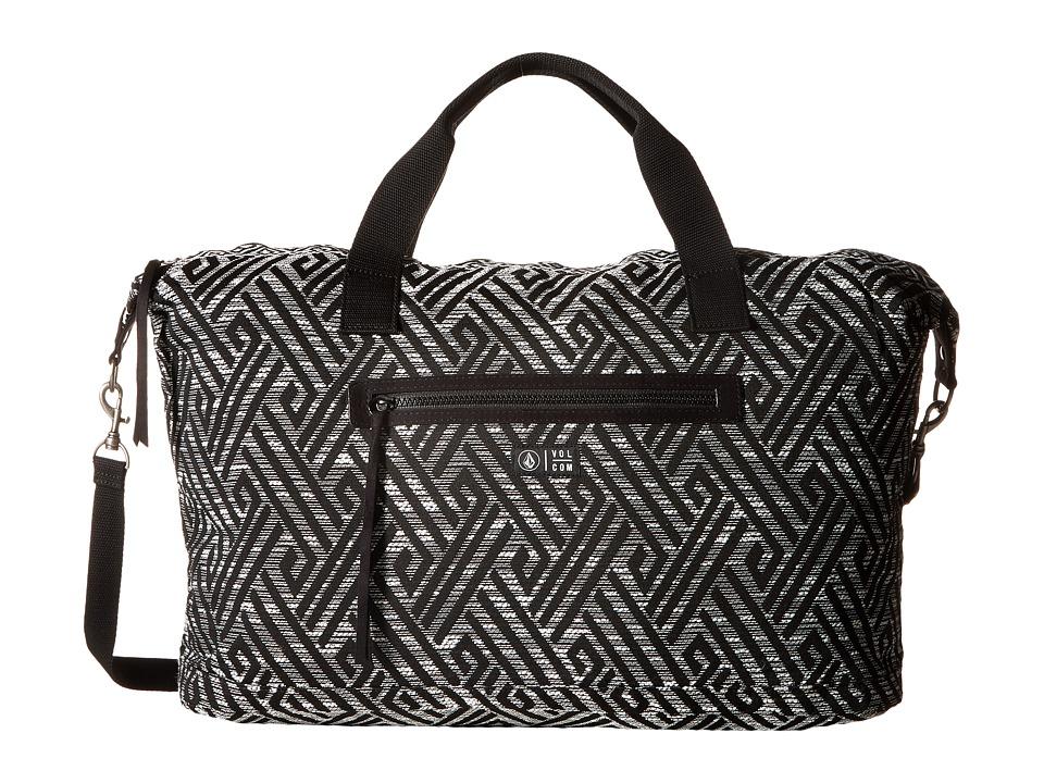 Volcom - Outta Towner Weekender (Black) Handbags