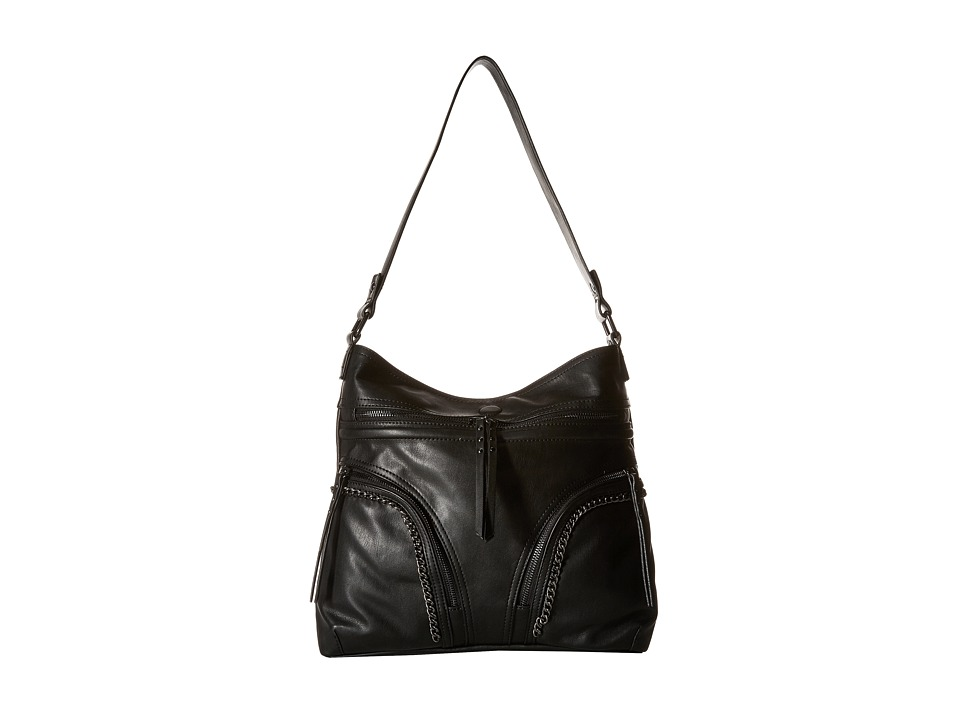 French Connection - Alexa Hobo (Black) Hobo Handbags