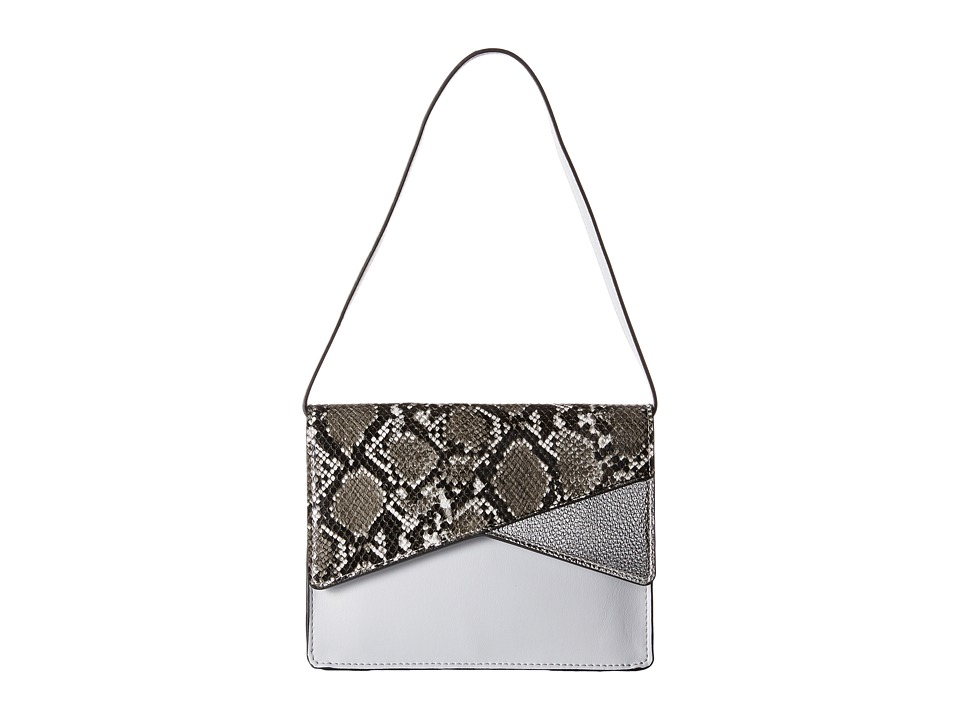 French Connection - Remy Clutch (Salt Water/ Black/White Snake) Clutch Handbags