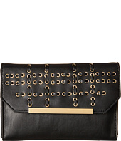 French Connection - Karen w/ Whipstitch and Eyelets Clutch