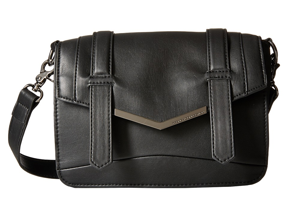 French Connection - Remy Crossbody (Black) Cross Body Handbags