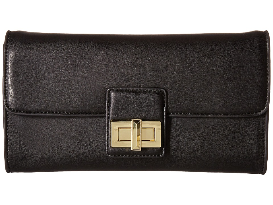 French Connection - Fiona Clutch (Black) Clutch Handbags