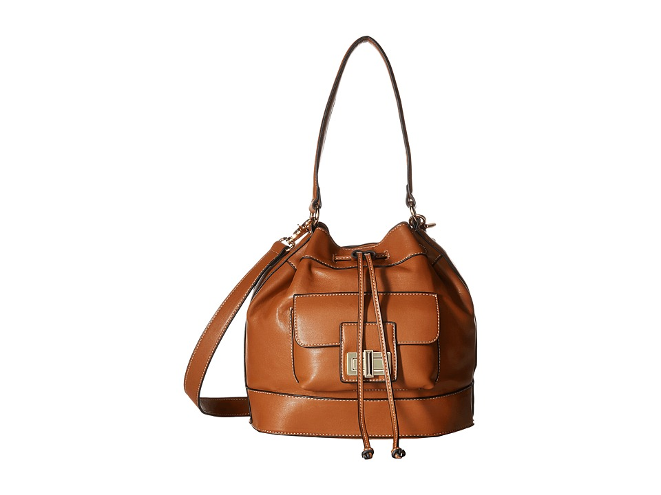 French Connection - Fiona Drawstring (Nutmeg) Drawstring Handbags