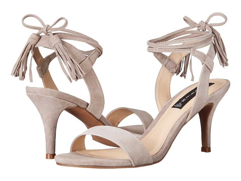 Steven Valen Taupe Suede Womens 1 2 inch heel Shoes