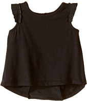 Kardashian Kids - Jersey Tee with Pleated Sleeve and Crepe Pleat Back (Infant)