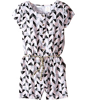 Kardashian Kids - Print Romper with Gold Plaited Belt (Toddler/Little Kids)