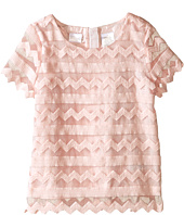 Kardashian Kids - Embroidered Organza Top (Toddler/Little Kids)