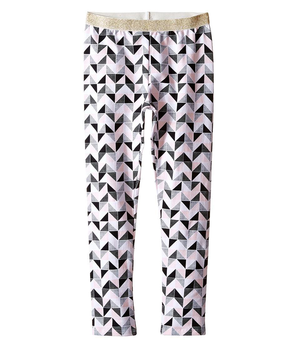 Kardashian Kids Printed Leggings with Gold Elastic Waist Toddler/Little Kids Print Multi Girls Casual Pants