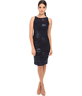 Adrianna Papell - Sequin Embroidered Floral Sheath