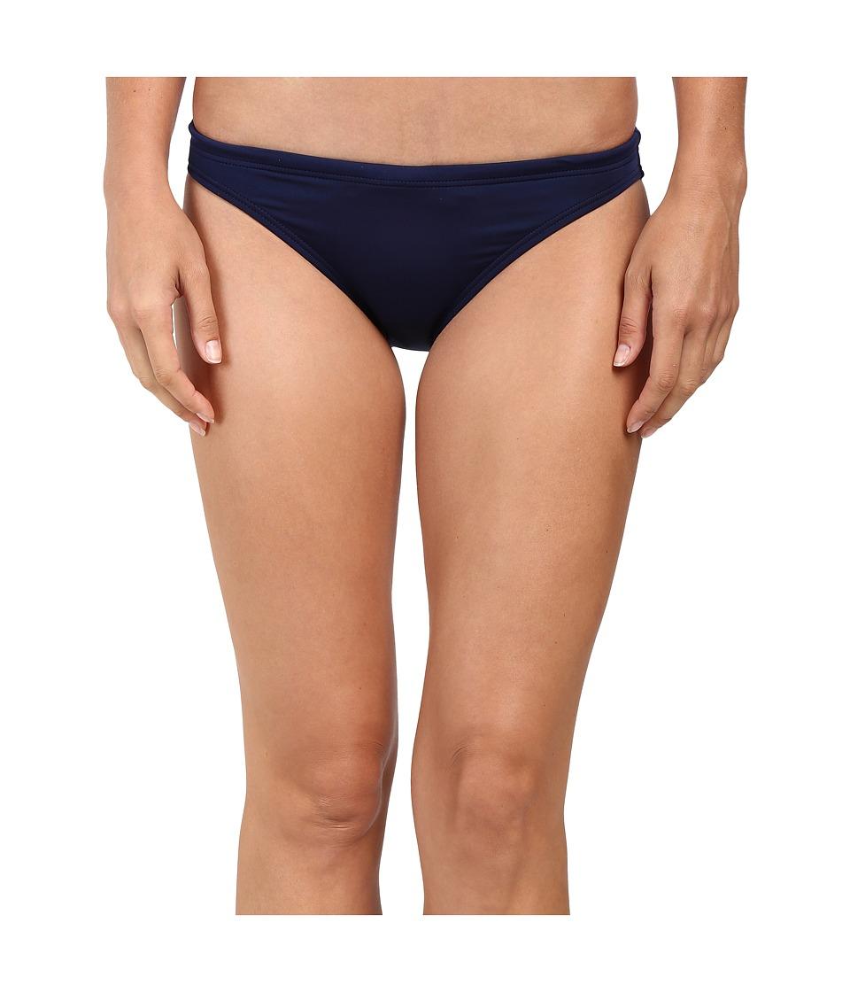 TYR Solid Brites Bikini Bottom (Navy)