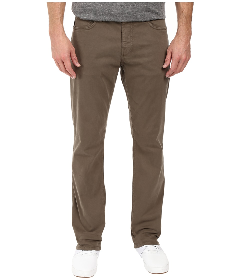 Mavi Jeans - Myles Casual Straight in Dusty Olive Twill (Dusty Olive Twill) Mens Jeans