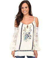 Double D Ranchwear - Paloma Peasant Top