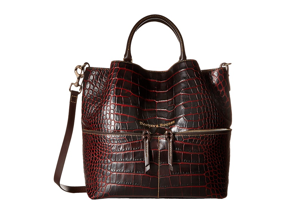 Dooney & Bourke - City Lafayette Large Dawson (Bordeaux) Handbags