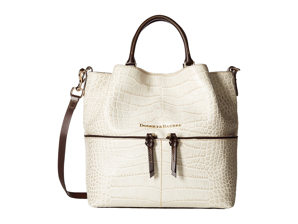 Dooney & Bourke - City Lafayette Large Dawson (Ivory) Handbags