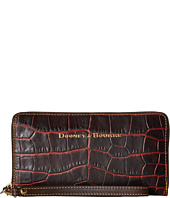 Dooney & Bourke - City Lafayette Large Zip Around Wristlet