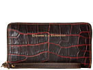 Dooney & Bourke City Lafayette Large Zip Around Wristlet