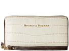 Dooney & Bourke City Lafayette Large Zip Around Wristlet