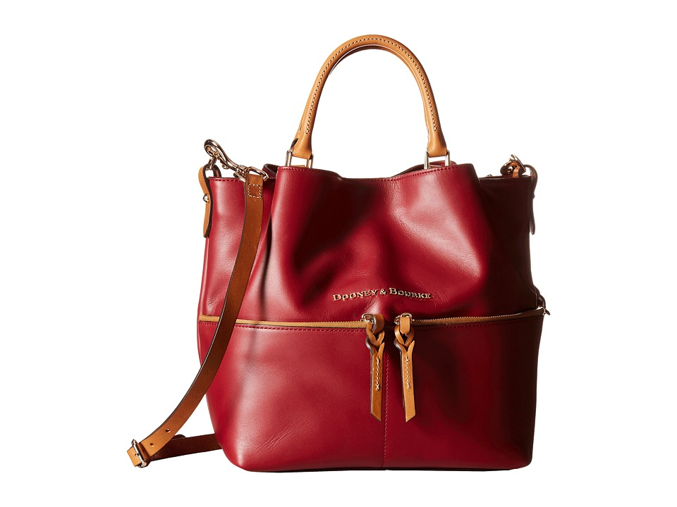 Dooney & Bourke - City Dawson (Wine) Satchel Handbags