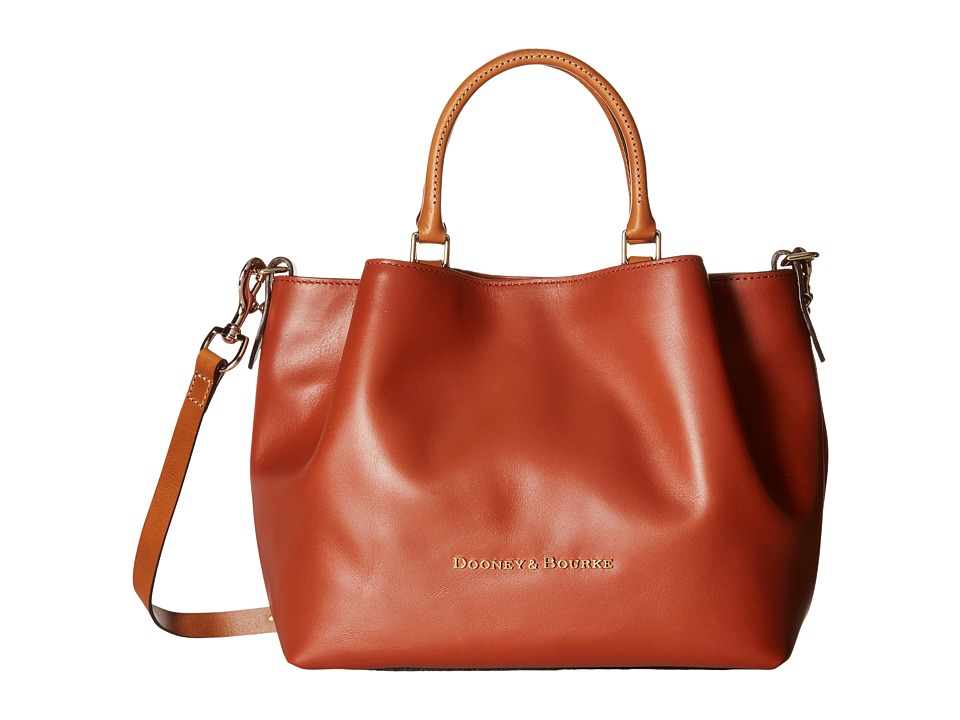 Dooney & Bourke - City Barlow (Cognac) Handbags