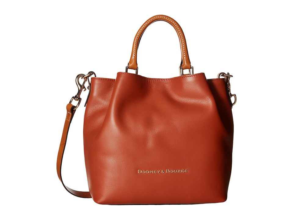 Dooney & Bourke - City Small Barlow (Cognac) Handbags