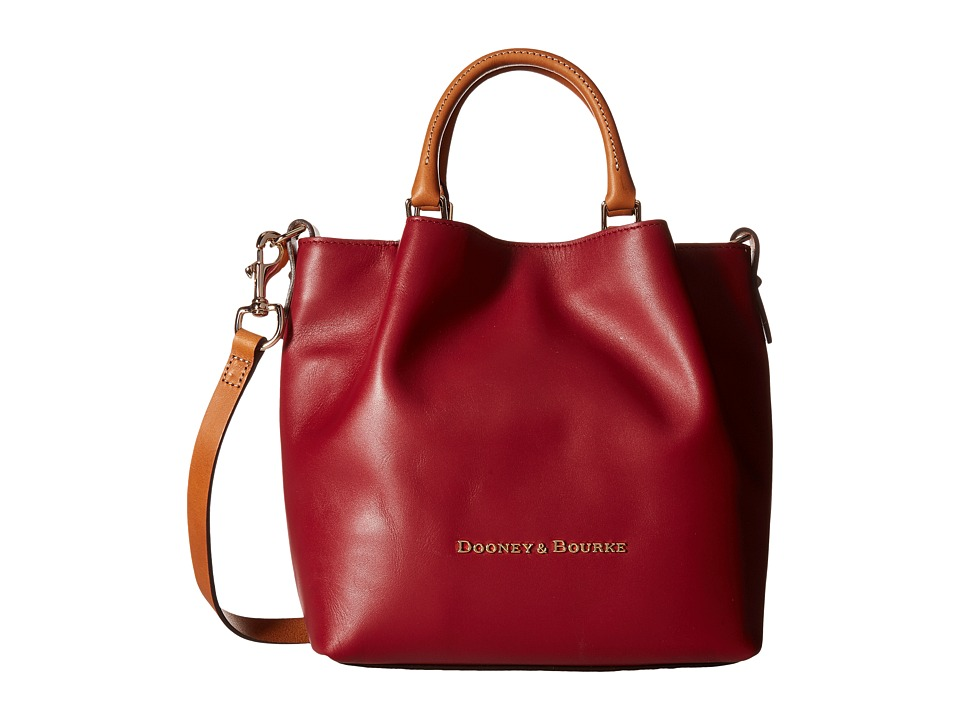 Dooney & Bourke - City Small Barlow (Wine) Handbags