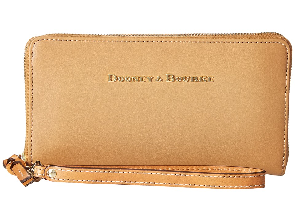 Dooney & Bourke - City Large Zip Around Wristlet (Desert) Wristlet Handbags