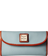 Dooney & Bourke - Pebble Leather New SLGS Continental Clutch