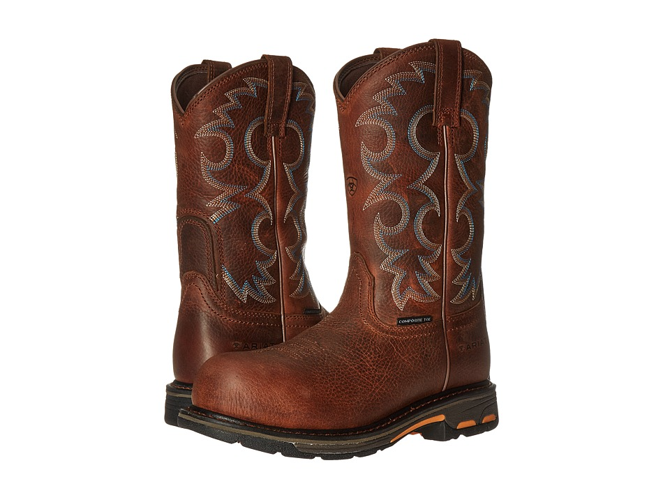 Ariat Workhog Pull-On CT (Nutty Brown) Women
