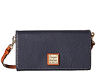 Dooney & Bourke Pebble Leather Daphne Crossbody Wallet