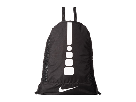 Nike Hoops Elite Gym Sack - Black/Black/White